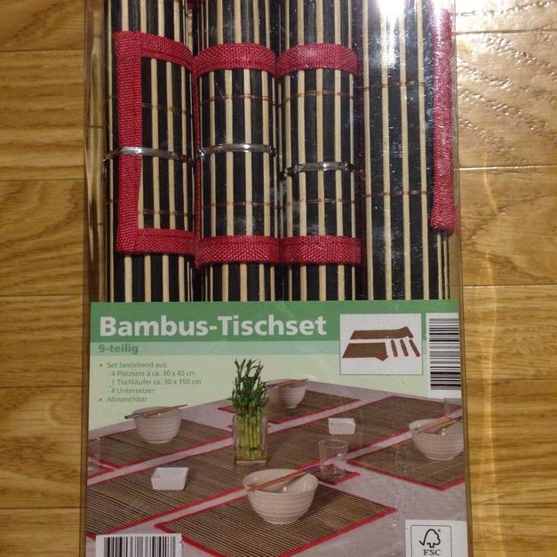 Bambus Tischset 9 Teilig In 63773 Goldbach For 3 50 Shpock