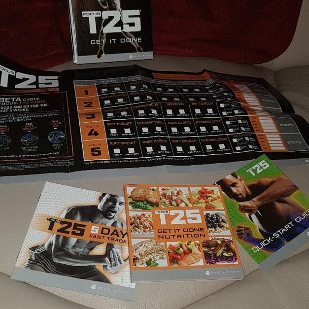 Weight loss program focus t25 in Wakefield for £25 00 for sale - Shpock