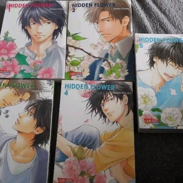 Hidden Flower 1 5 Komplett Boys Love Yaoi Sc In 50354 Hrth For