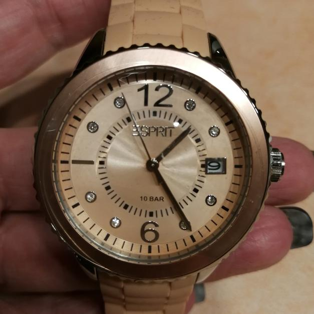 Esprit Uhr Marin Farbe Apricot In 64347 Griesheim For 35 Shpock