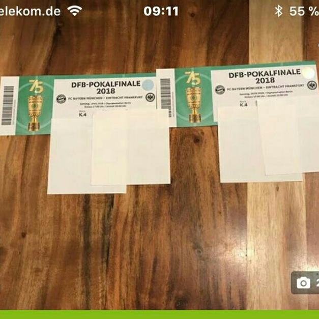 Dfb Pokal Finale 2 Tickets In 80333 München For 500 Shpock