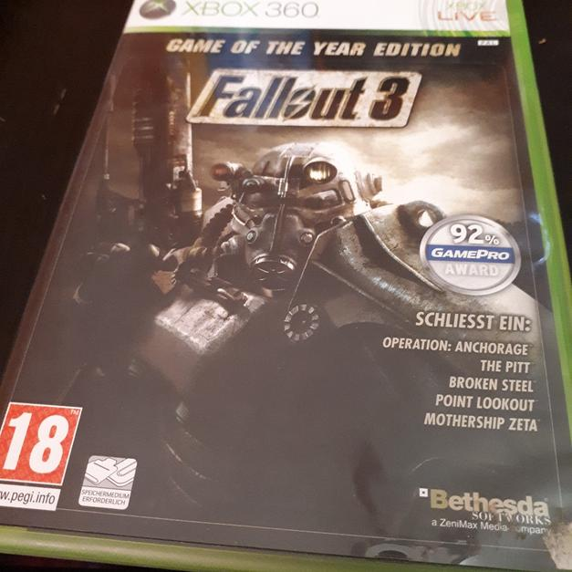 Fallout 3 Games Of The Year Edition uncut