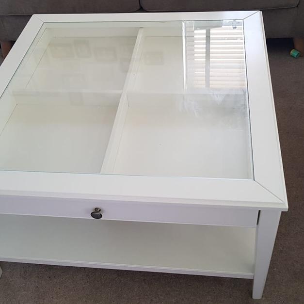 Coffee Table Glass Top And Draws Bottom Self In N22 London For 80
