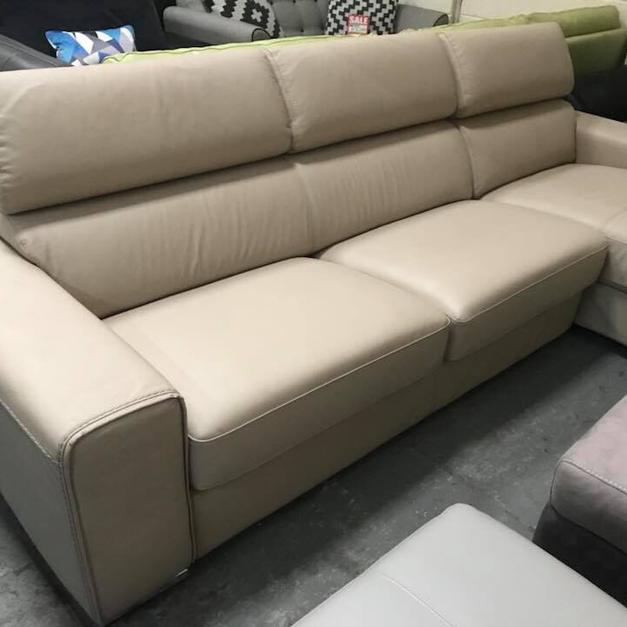 Leather Sofas At Dfs: DFS Kalamos Chaise Storage Leather Sofa NEW In Pontardawe