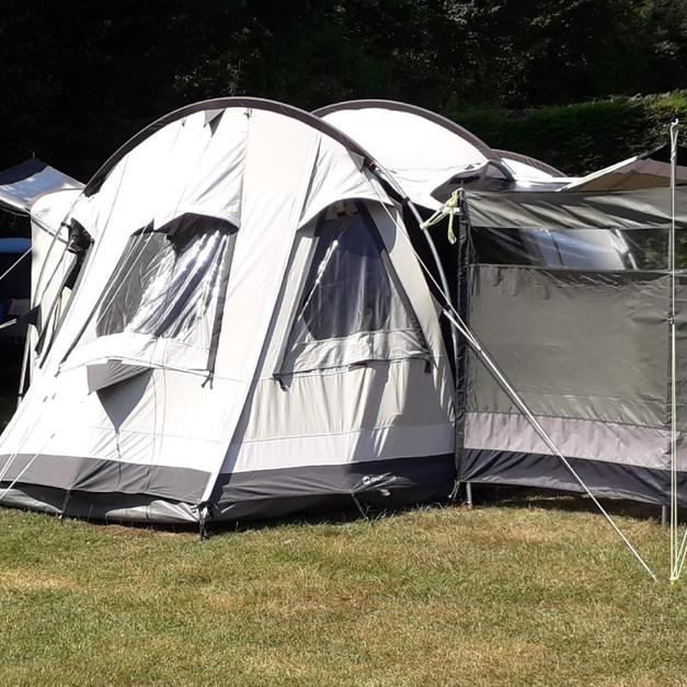 Description & Outwell trout lake 4 poly cotton 4 man tent in LS26 Leeds for ...