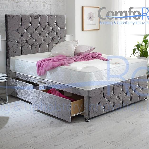 fb017957aaf1 Crushed Velvet Ibex Plus Extra Storage Bed in G45 4AN Birmingham for ...