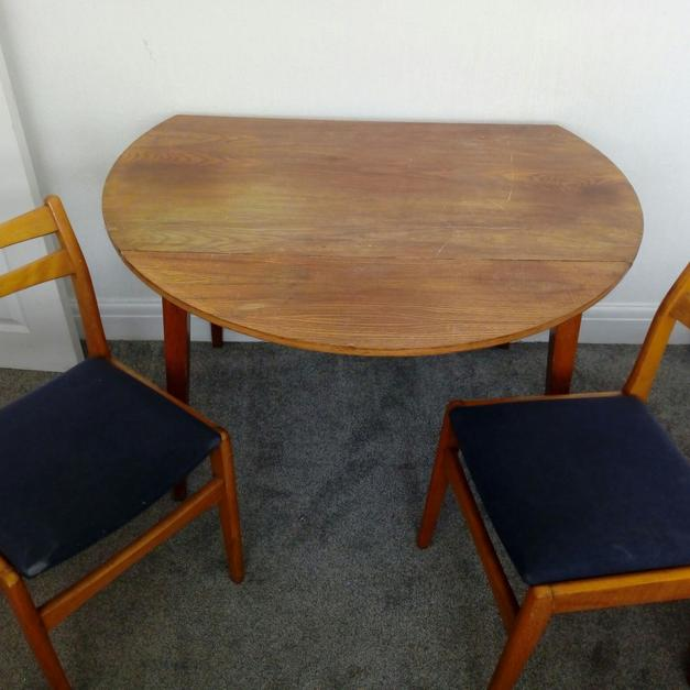 Drop Leaf Dining Table 4 Chairs In FY1 Blackpool For 3000 Sale