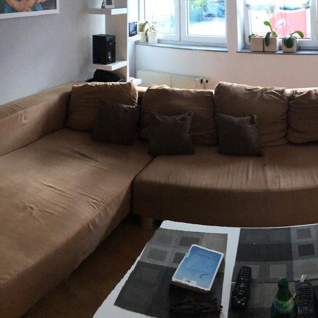 Couch Sofa Microfaser In 67655 Kaiserslautern For Free Shpock