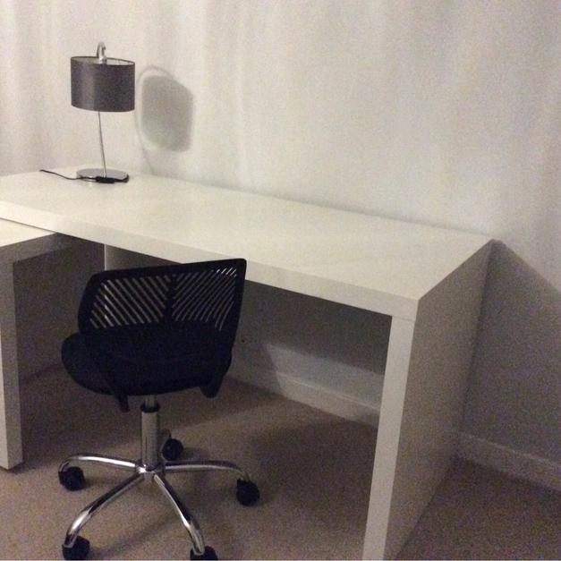 Ikea Malm Desk With Pull Out Panel In Gu22 Woking For 5000 Shpock