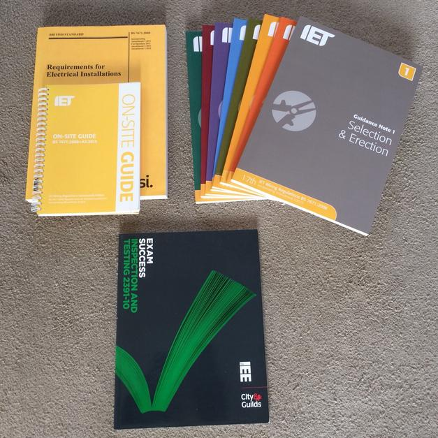 Terrific Bs7671 Iet Wiring Regulations Books In Selby For 50 00 For Sale Wiring Cloud Brecesaoduqqnet