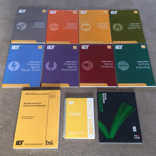 Awe Inspiring Bs7671 Iet Wiring Regulations Books In Selby For 50 00 For Sale Wiring 101 Jonihateforg