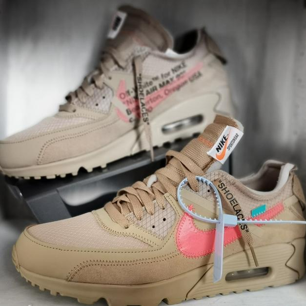 finest selection 93b17 d57af Nike Air Max 90 x Off-White Dessert Ore 44,5