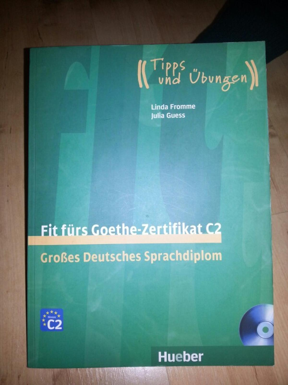 Fit Fürs Goethe Zertifikat C2 In 22143 Hamburg For 1400 For Sale