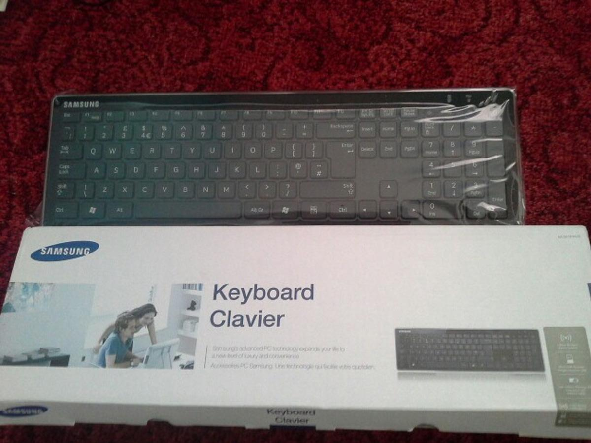 0837f4a67bf Samsung AA-SK1PWUB Wireless Keyboard in CH49 Wirral for £15.00 for ...