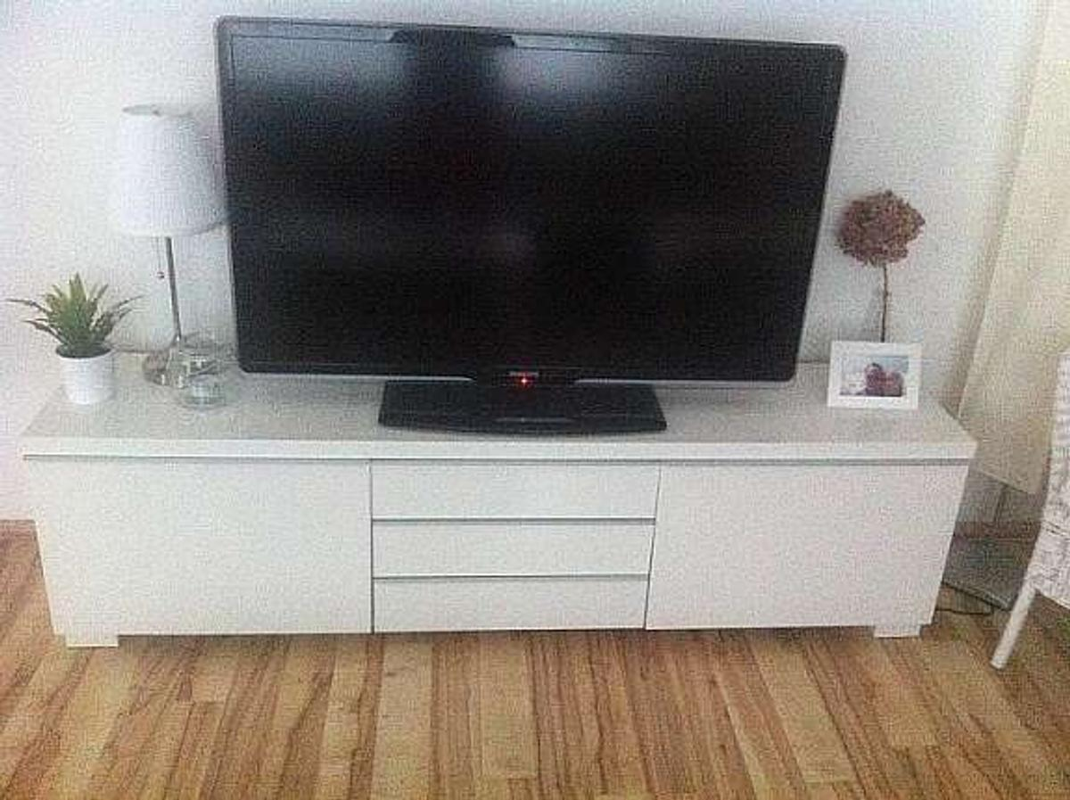 Ikea Tv Board Weiss Hochglanz In 64283 Darmstadt For 180 00 For