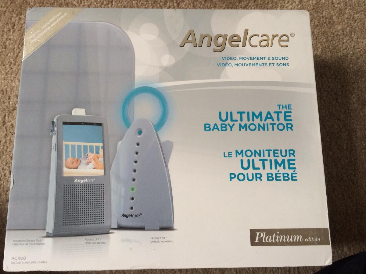 ANGELCARE AC1100 VIDEO, MOVEMENT, MONITOR