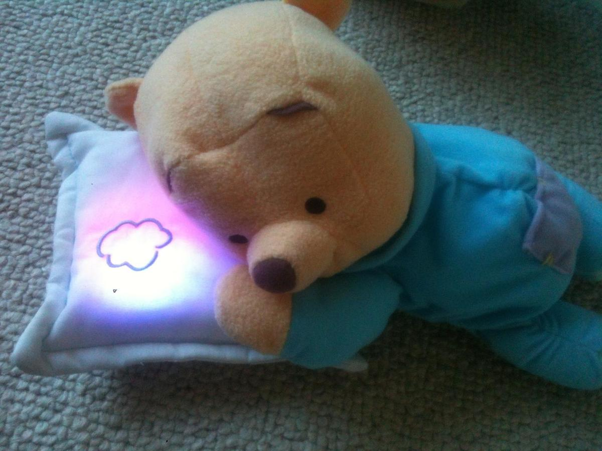 Winnie the Pooh lullaby soother