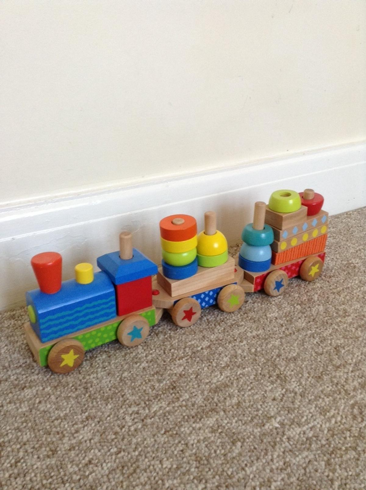 Wooden Stacking Train Toys R Us