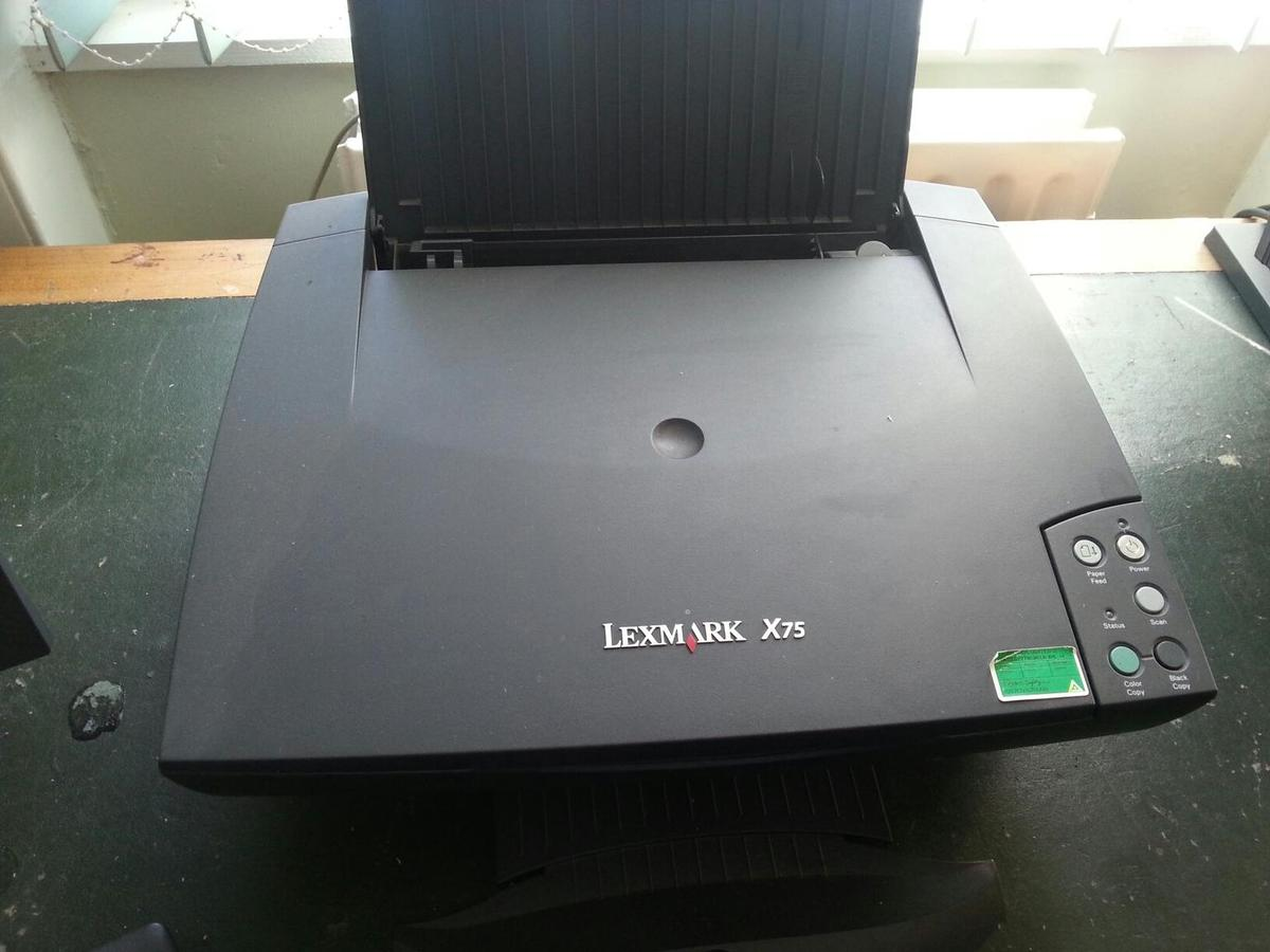 LEXMARK X75 DEVICE DRIVERS FOR PC