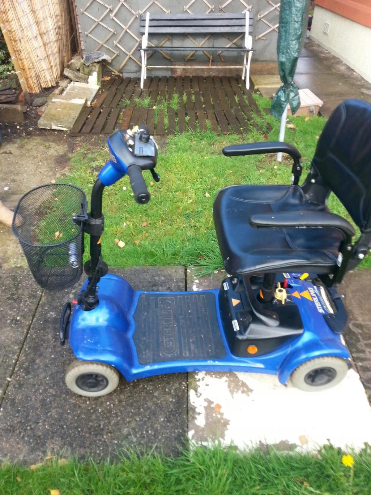 Sterling Mobility Scooter Blue