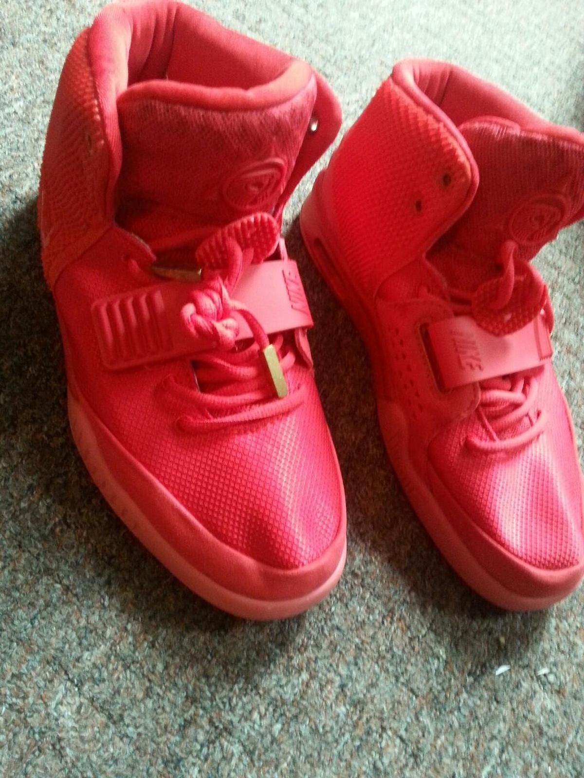 1f2b09a65 kanye west red October Nike trainers yeezy 2 in S3 Sheffield for ...