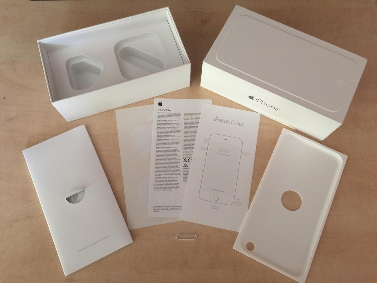 iPhone 6 Plus empty box only