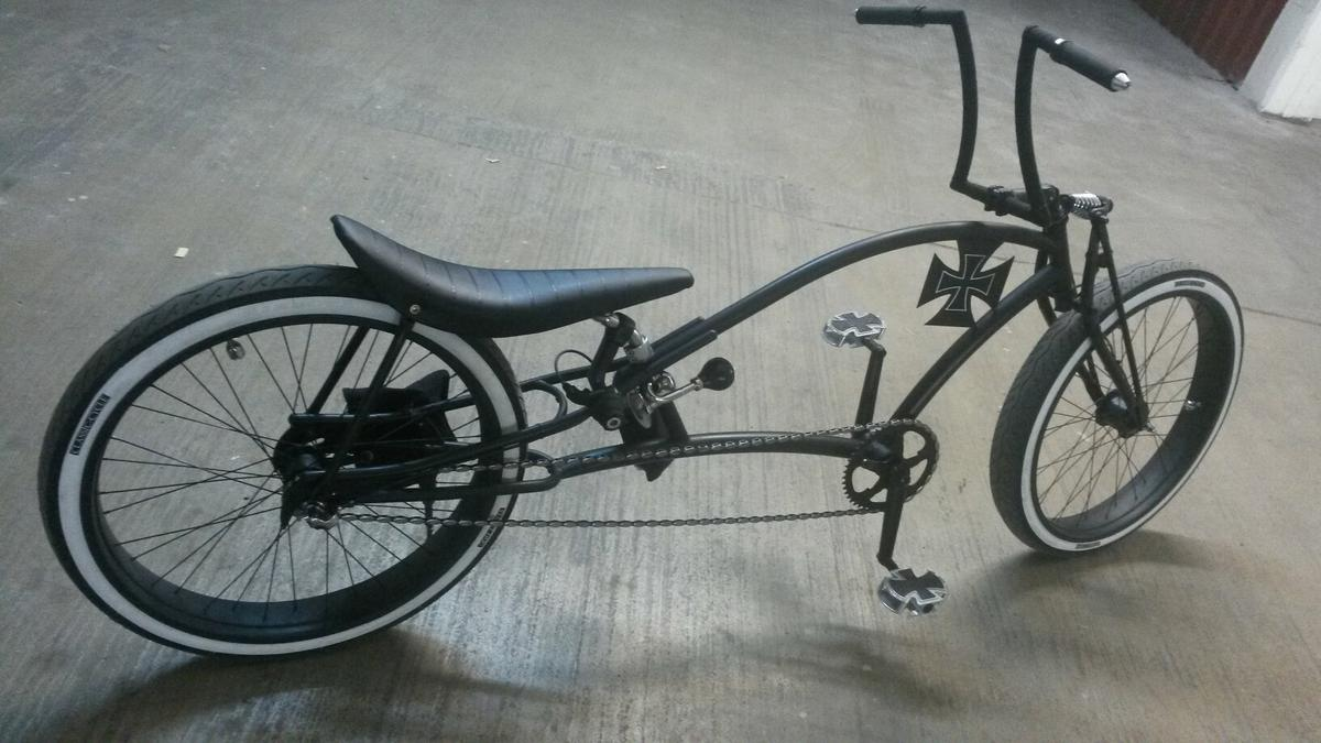chopper fahrrad, Custombike, beachcruiser