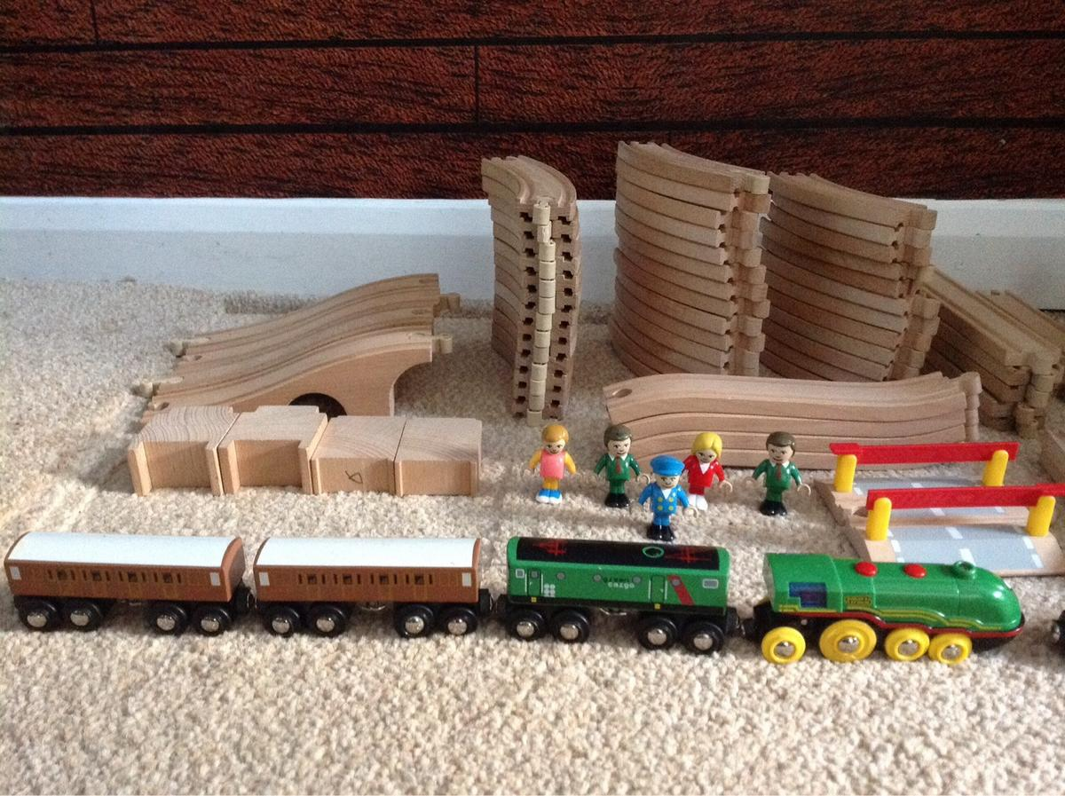 Wooden Train Bounle Set Thomas Brio Ikea