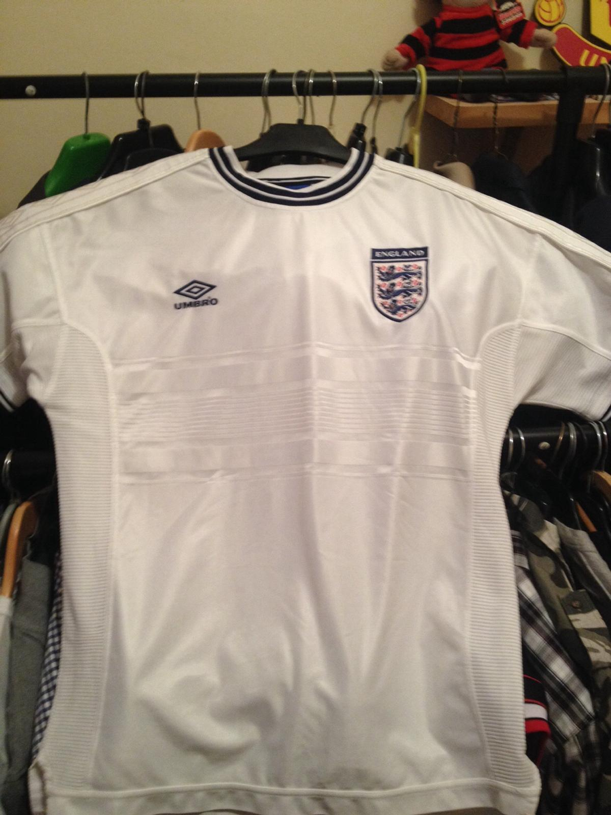bf51a05ec England Umbro Retro Football Shirts