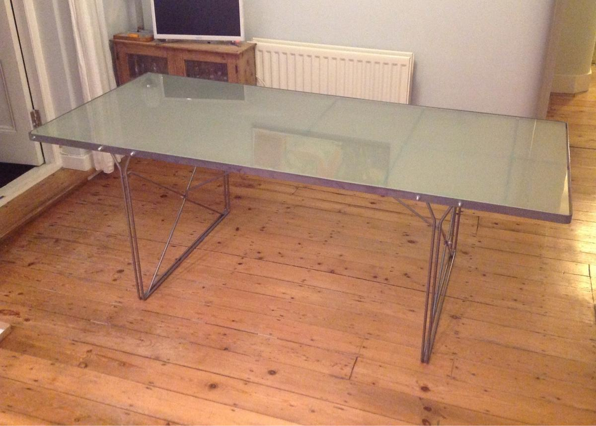 Ikea Moment Glass Top Dining Table Seats 9 9