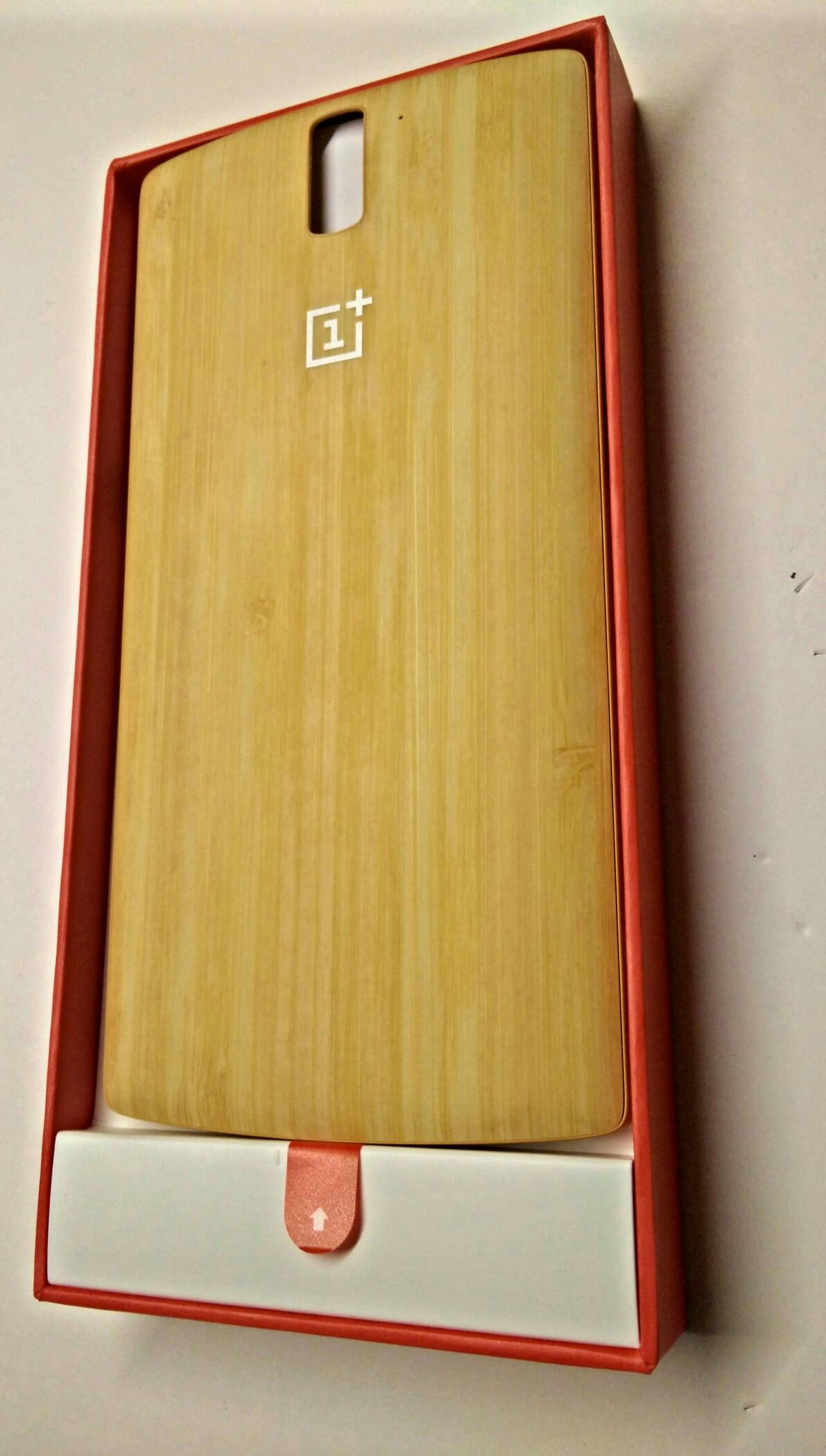 various colors c32f3 87fc2 OnePlus One Bamboo Style Swap Cover Bambus