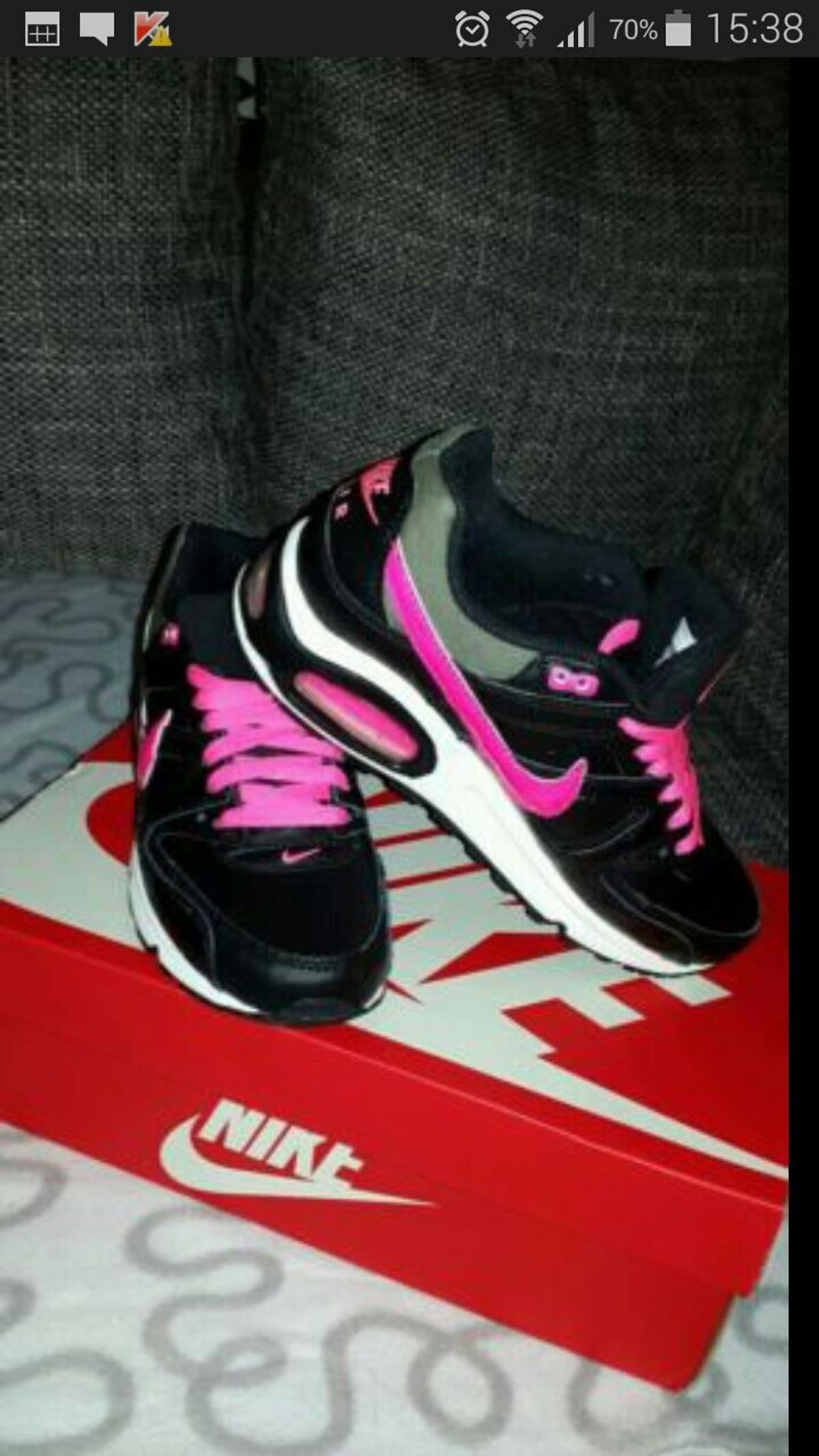 nike air max command schwarz /pink