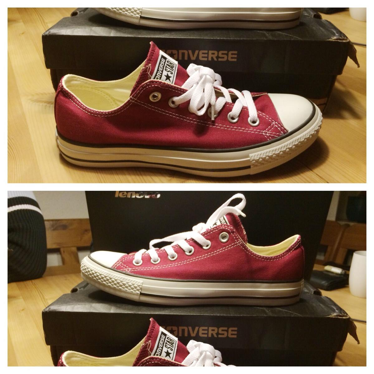 Converse All Star Chucks - weinrot - Gr 40