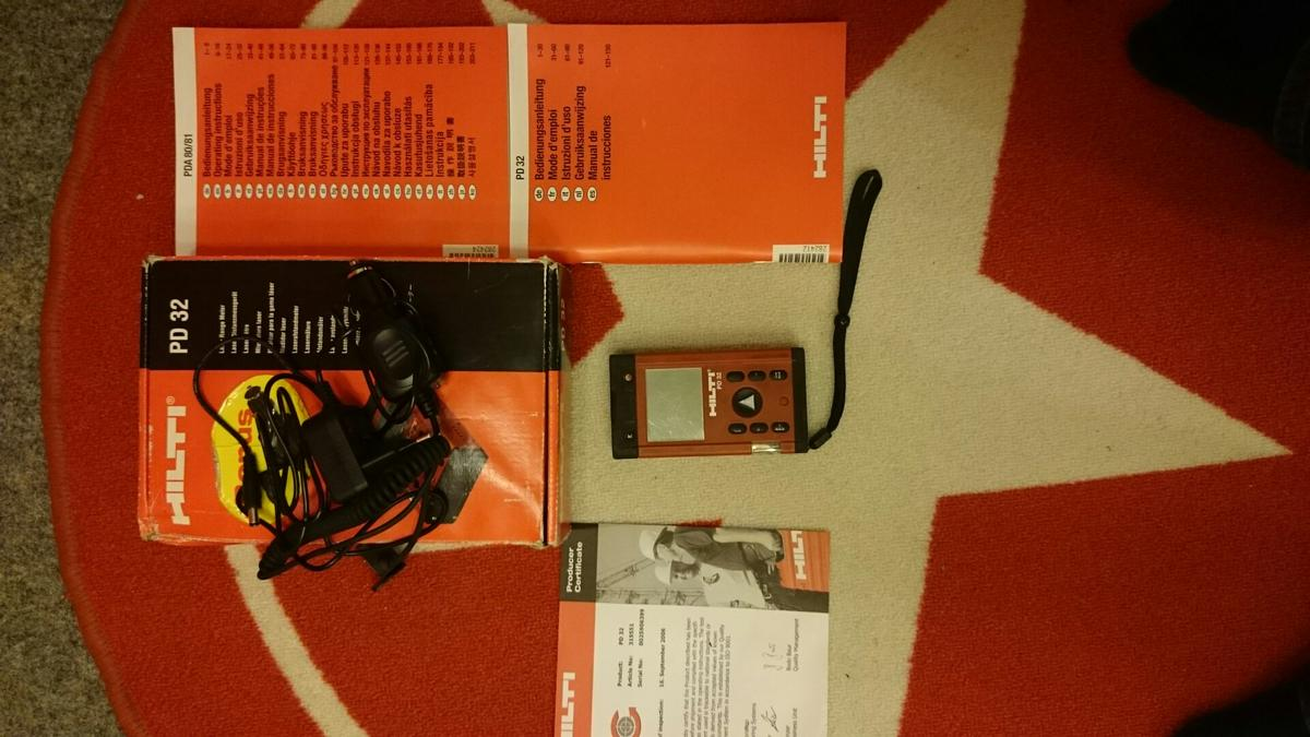 Mini hilti pd 32 laser entfernungsmesser in 2521 trumau for u20ac90.00