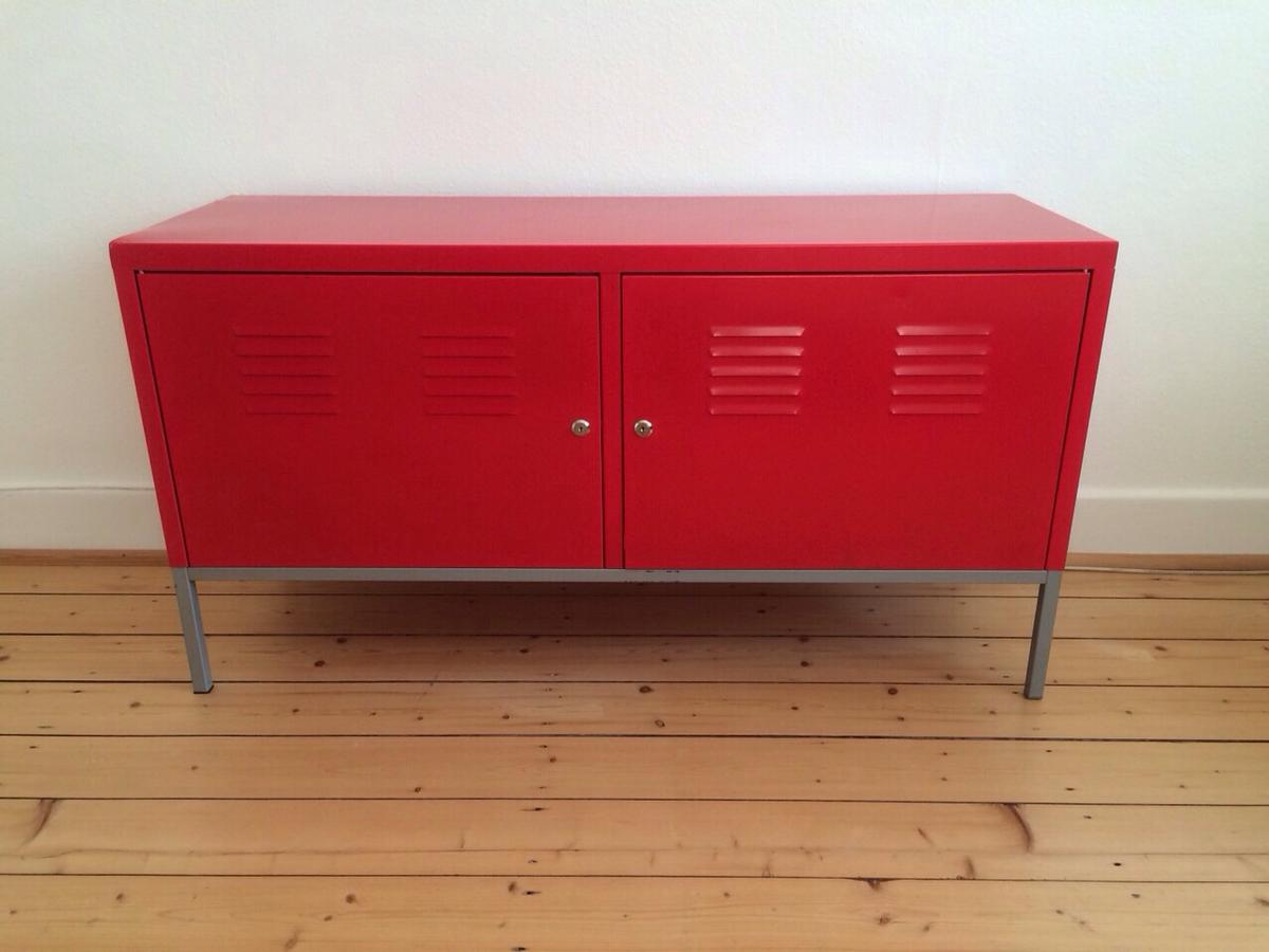 Sideboard Metallschrank Rot Ikea Ps Rot In 48145 Munster For