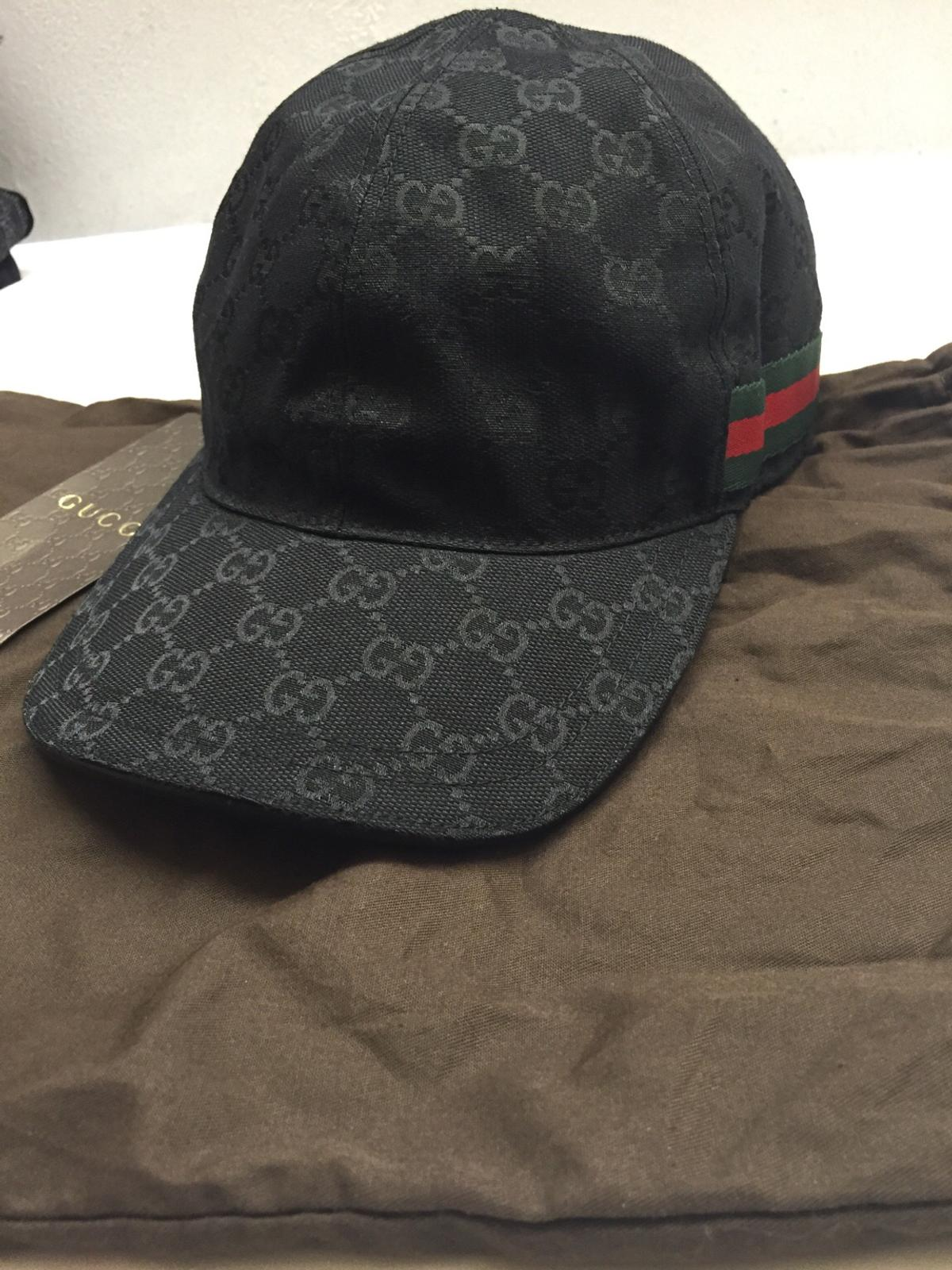 db54cc59a798bc brand new GUCCI Cap Black M in OL8 Oldham for £110.00 for sale - Shpock