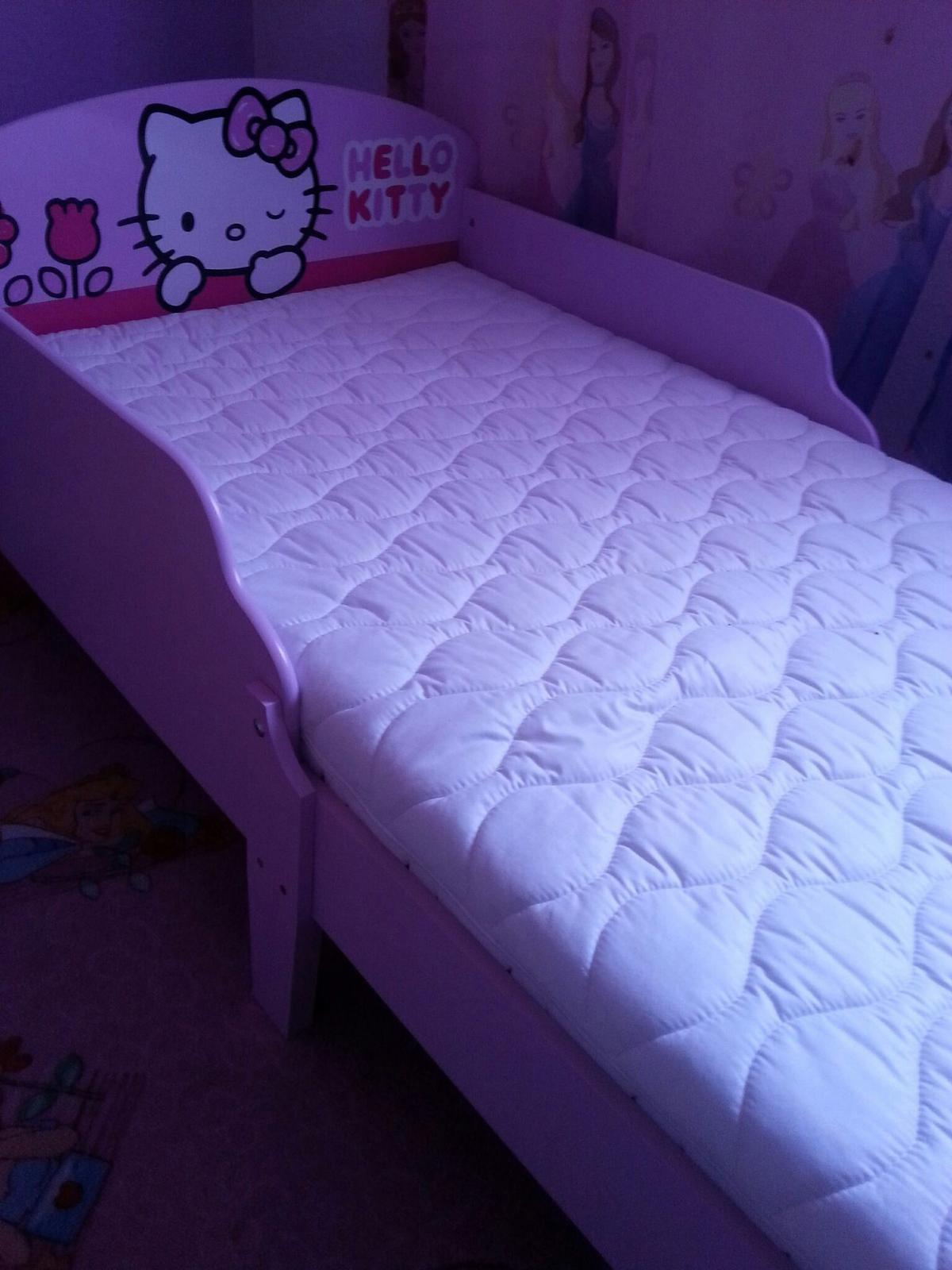 Hello Kitty Bett 70x140