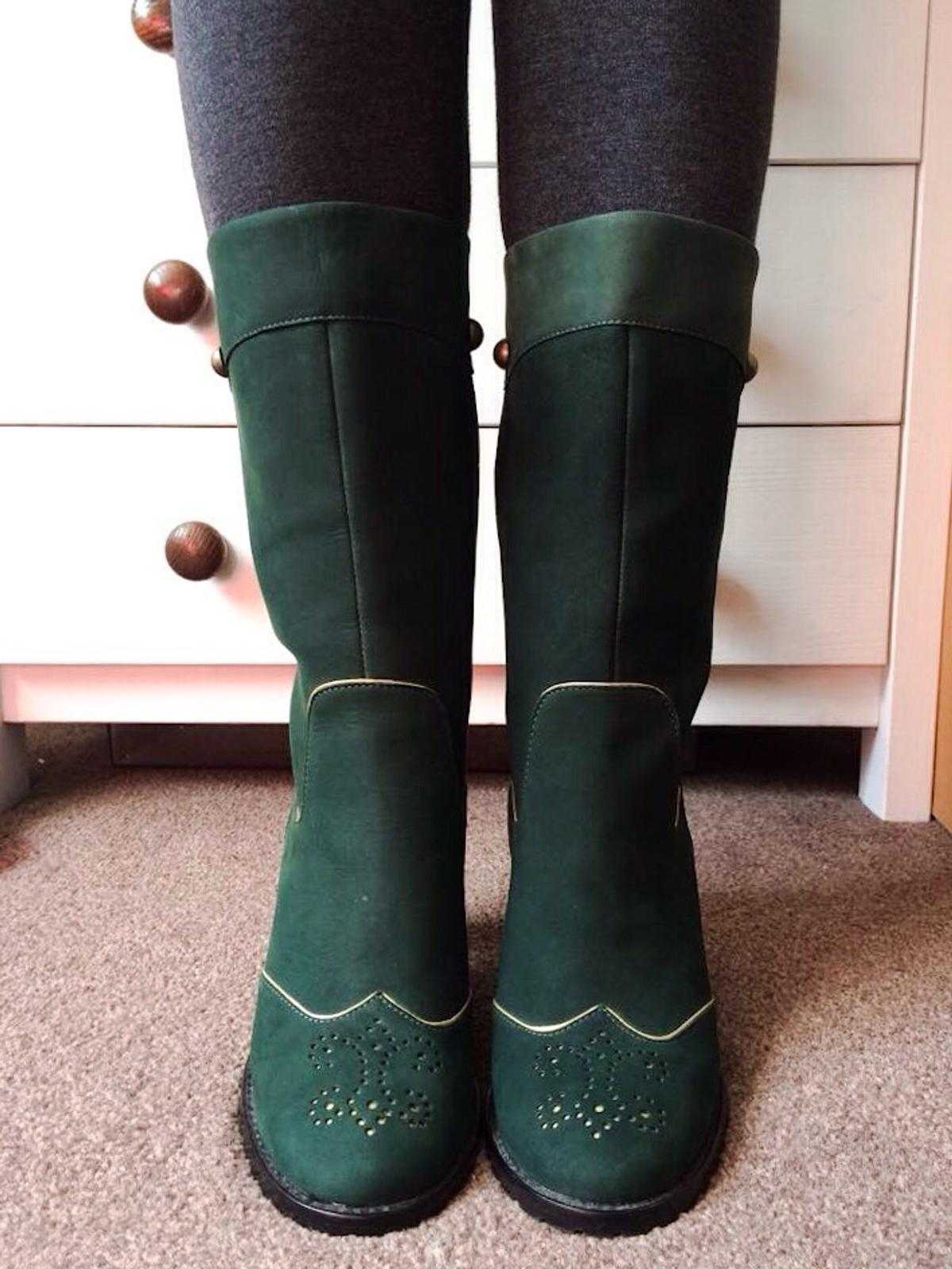 new product dd0bf 0ae28 Pepe Jeans London Deep Green Boots/Shoes