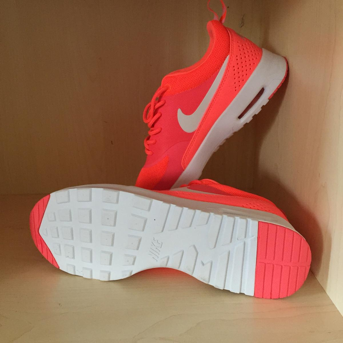 Nike Air Max Thea Hot Punch Lava Neon Pink 38