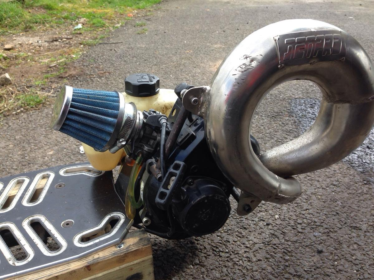 Go-ped sport 29cc racing tuned in BA5 Mendip for £250 00 for sale