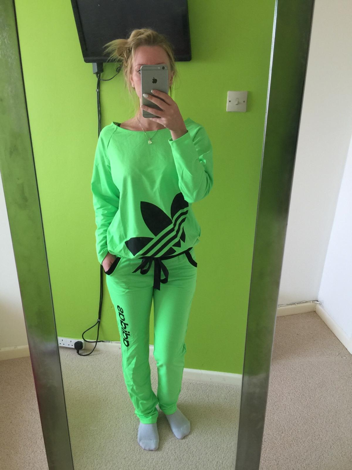 e2a70246 Adidas neon tracksuits in Shoeburyness for £40.00 for sale - Shpock