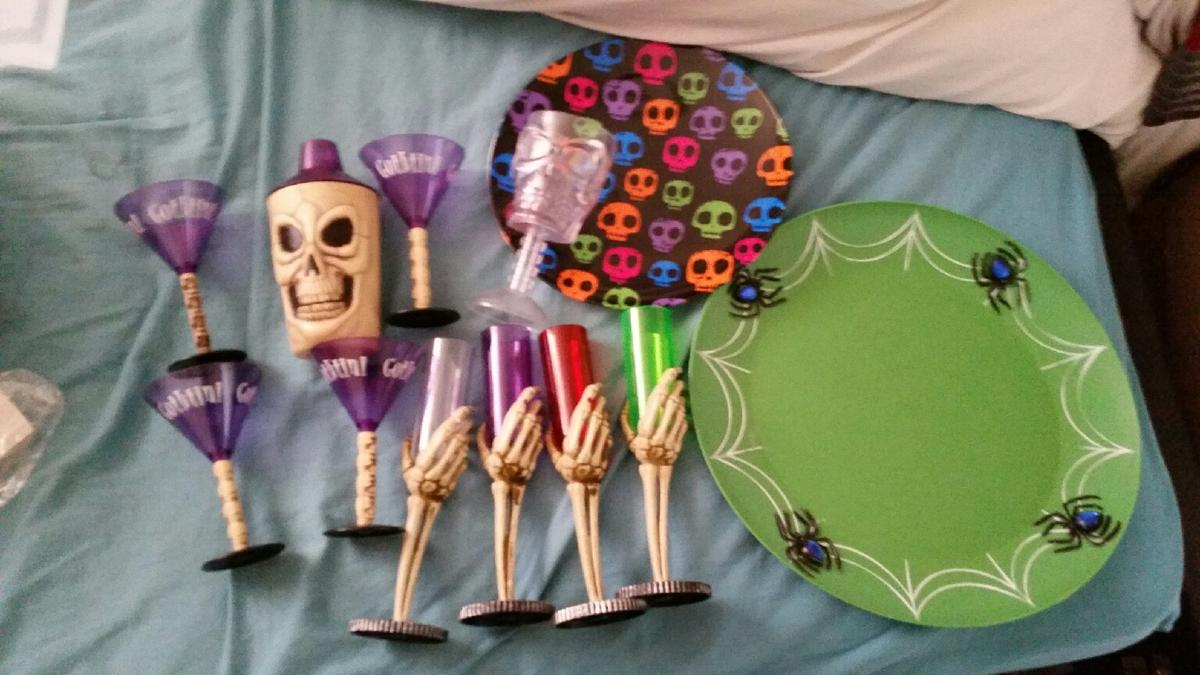Halloween Decorations Huge Job Lot In Bs22 7rf St Georges
