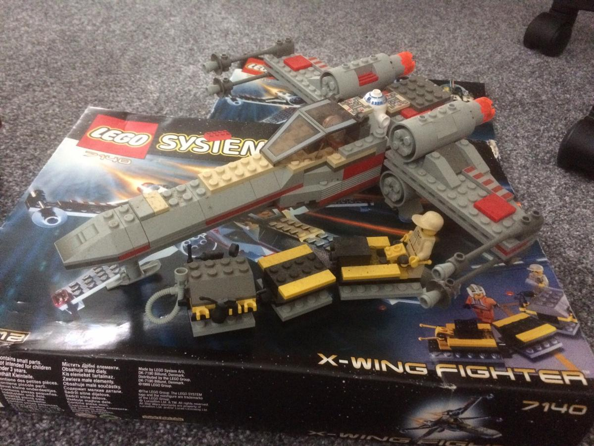 Lego Star Wars X Wing 7140 And Tie Advanced In Yo26 York For