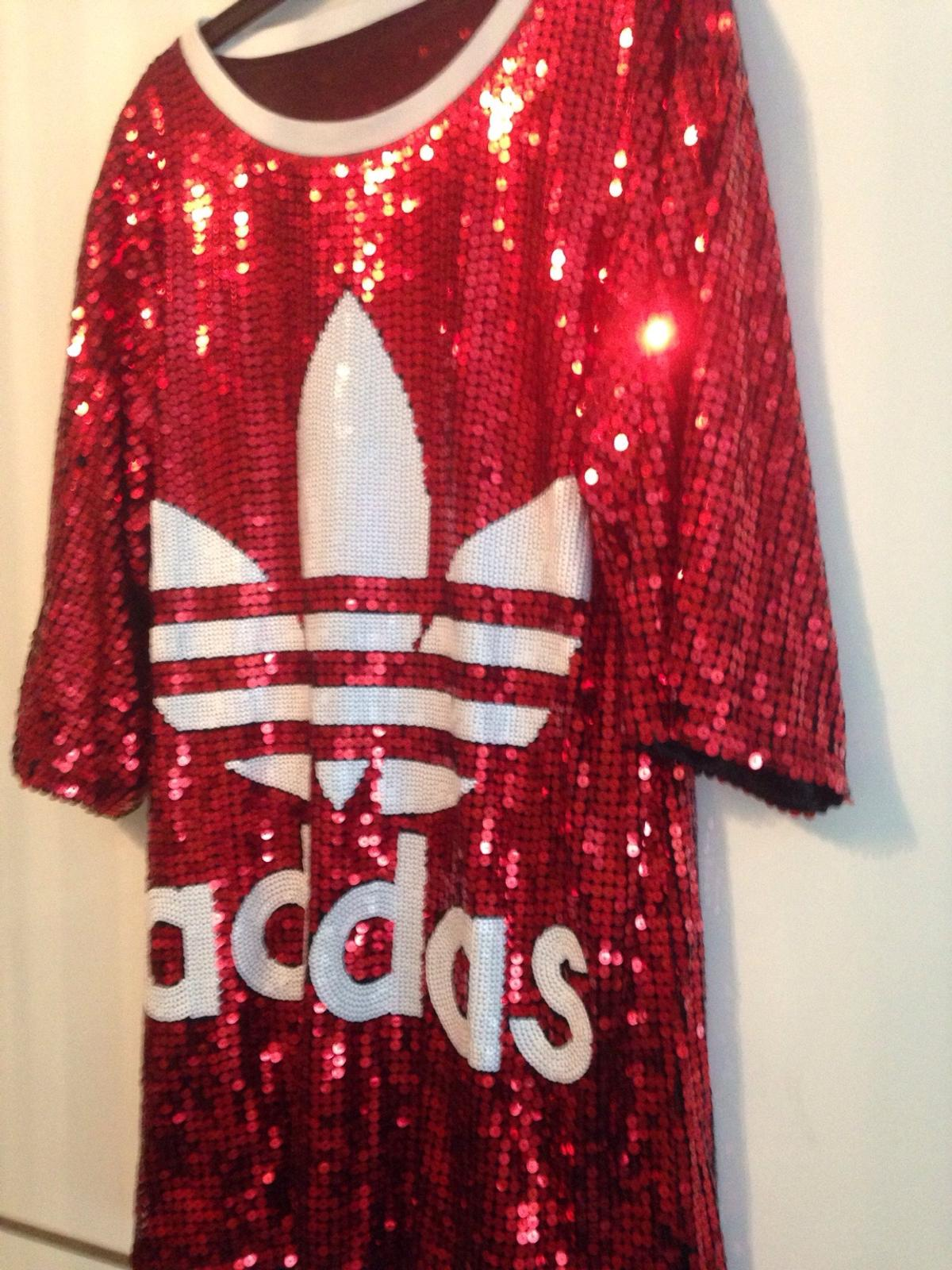 authentic great fit competitive price Pailletten Oversize Tshirt /Kleid Adidas