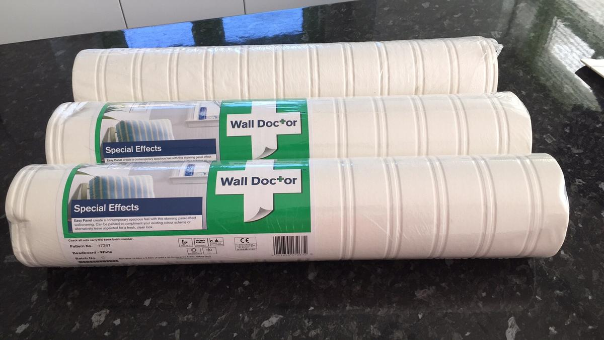 Wall Doctor Special Effects White Wallpaper In Kt12