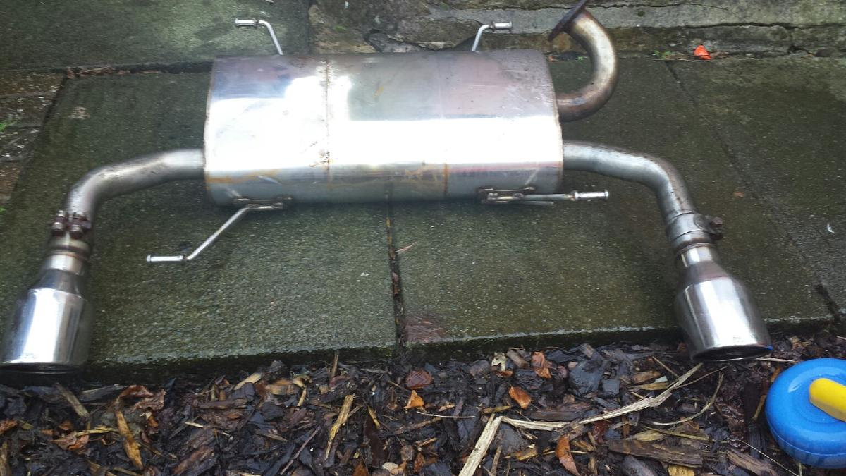 suzuki swift sport milltek exhaust