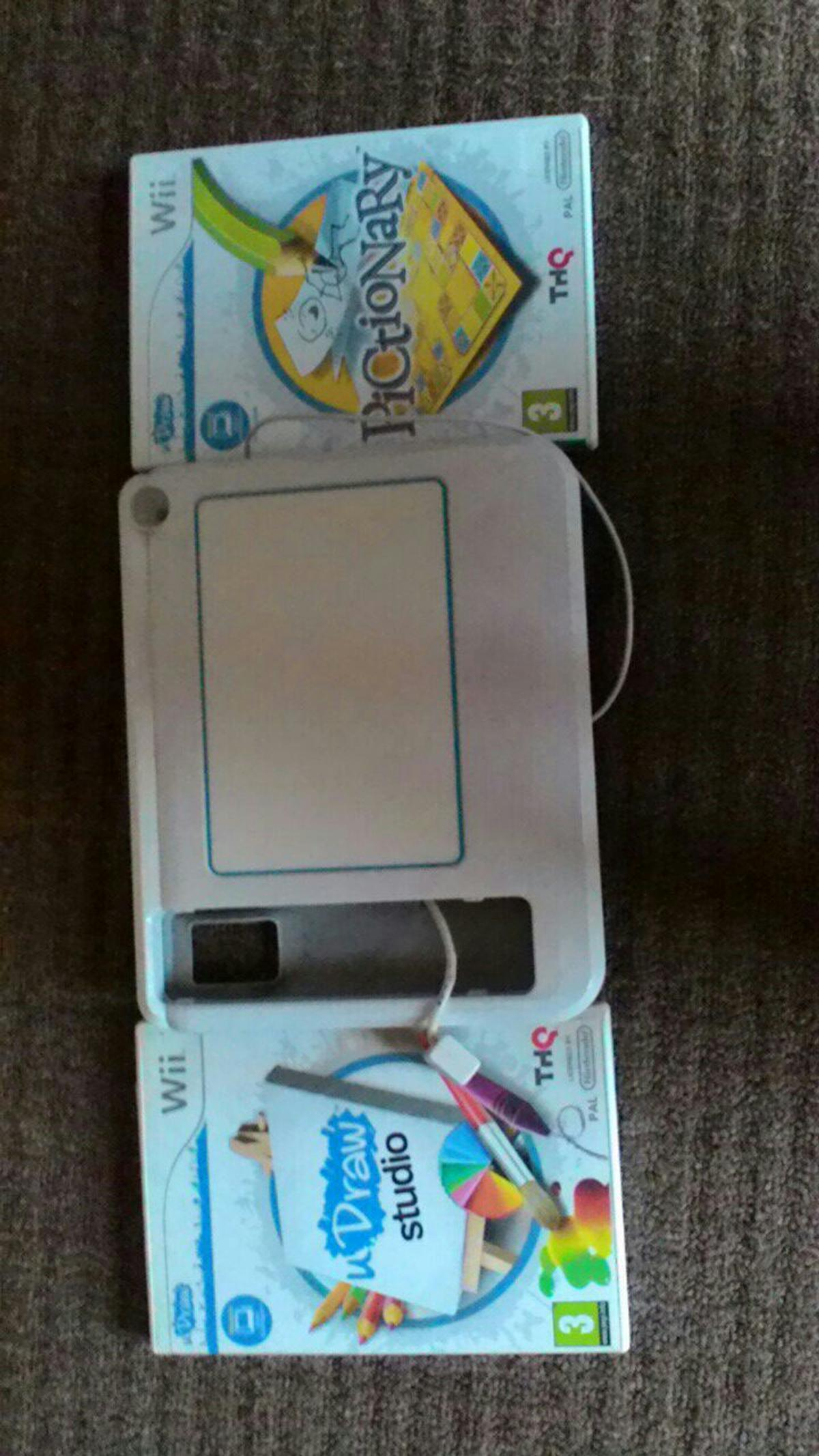 drawing games for wii Wii UDraw Tablet And 2 Games