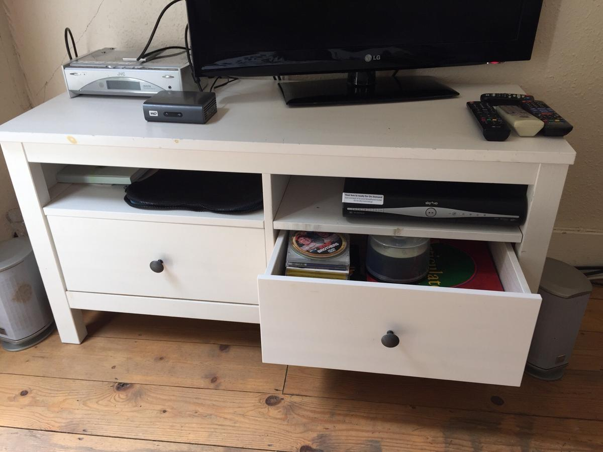 IKEA Hemnes TV Stand, Two Drawers RRP £150