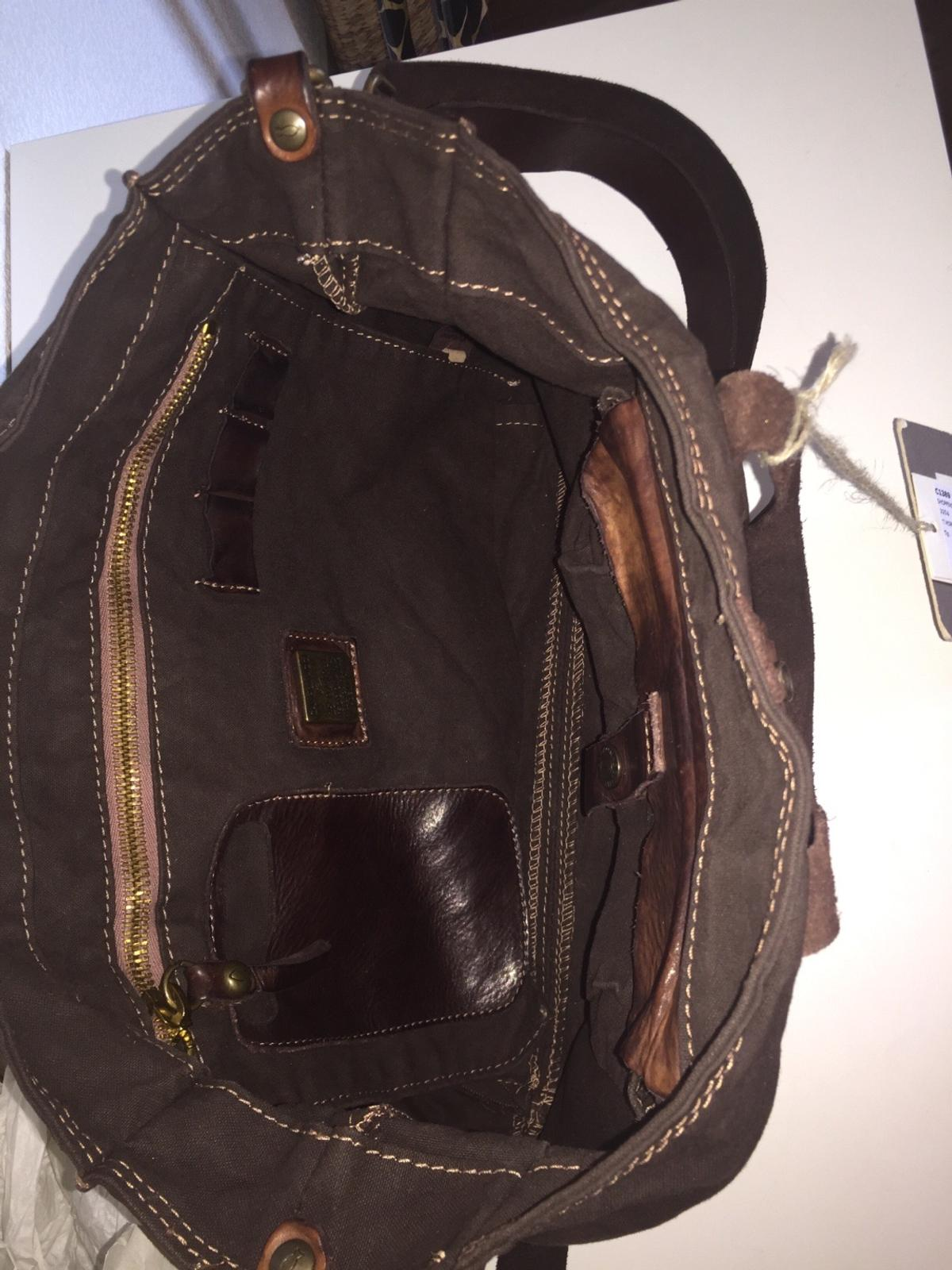 uk availability best quality best shoes Campomaggi Tasche C1389 braun Neu NP169€ in 67663 ...