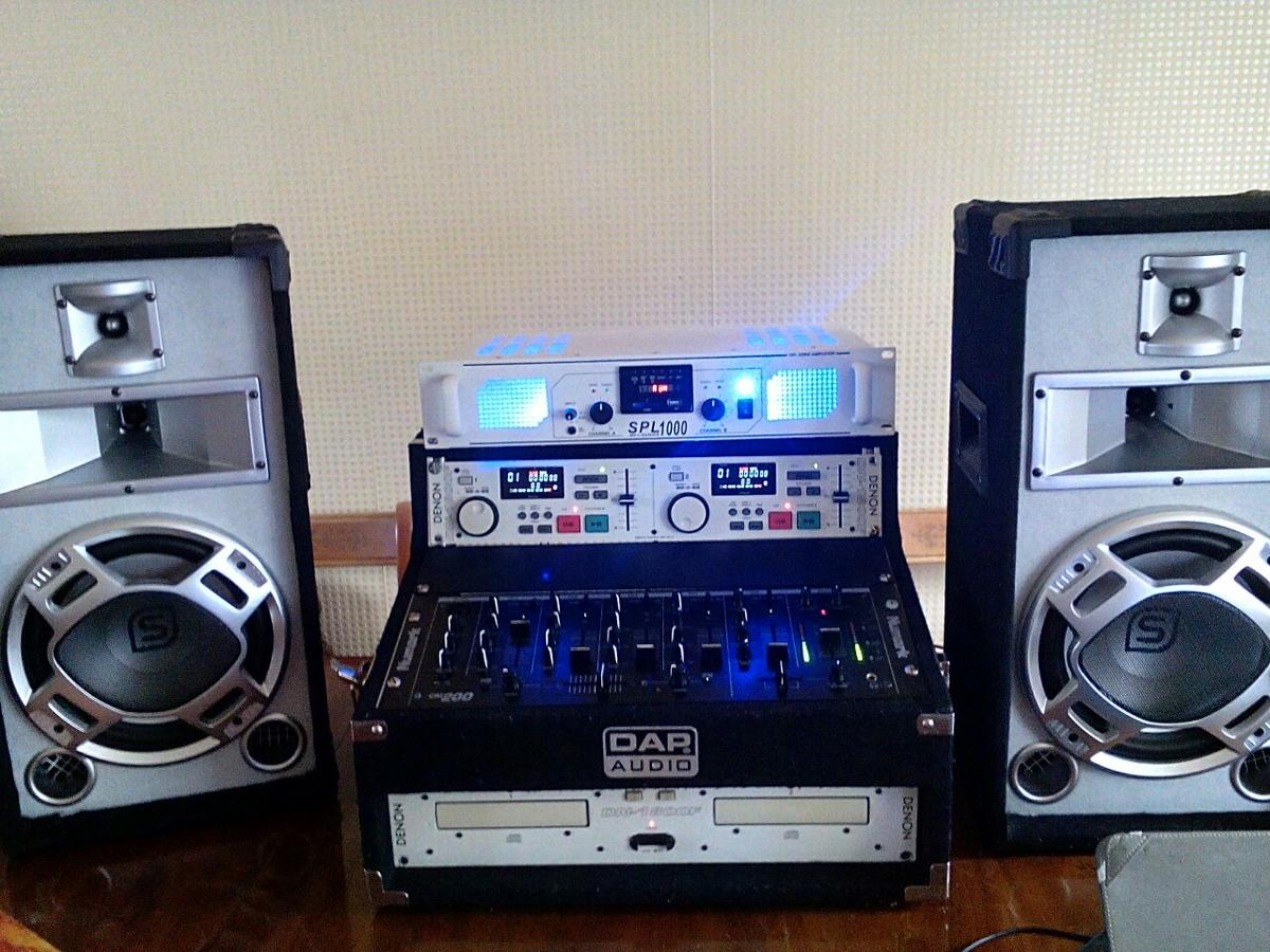 PA full system,Amp and mixer ,,Denon in RG10 Hurley for